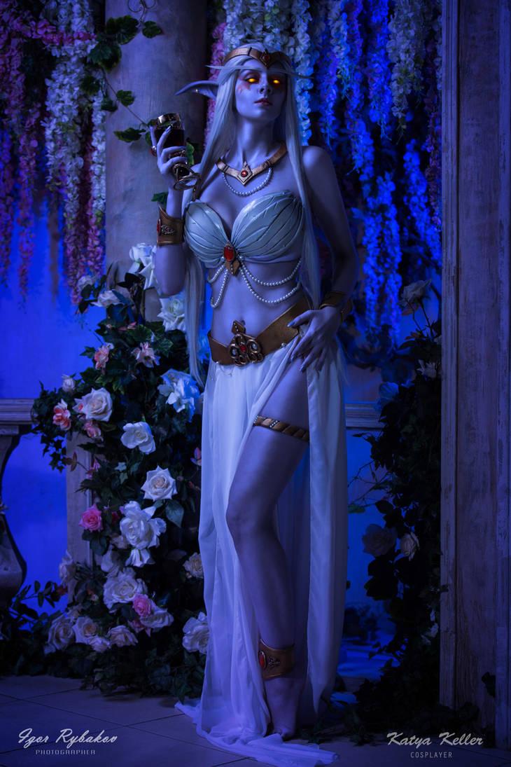 Queen Azshara by KatyaKeller