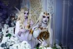 Lady Vashj and Queen Azshara by Keller-cosplay