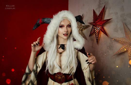 Lady Krampus cosplay