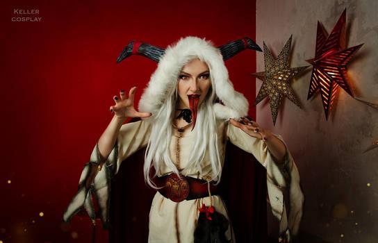 Lady Krampus is coming!