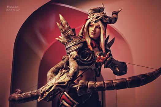 Blood Raven Sylvanas cosplay