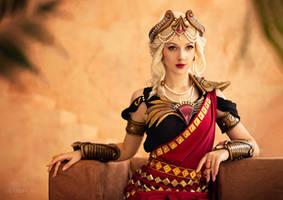 Crimson Queen Hera - Smite