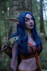 Night elf cosplay - World of Warcraft