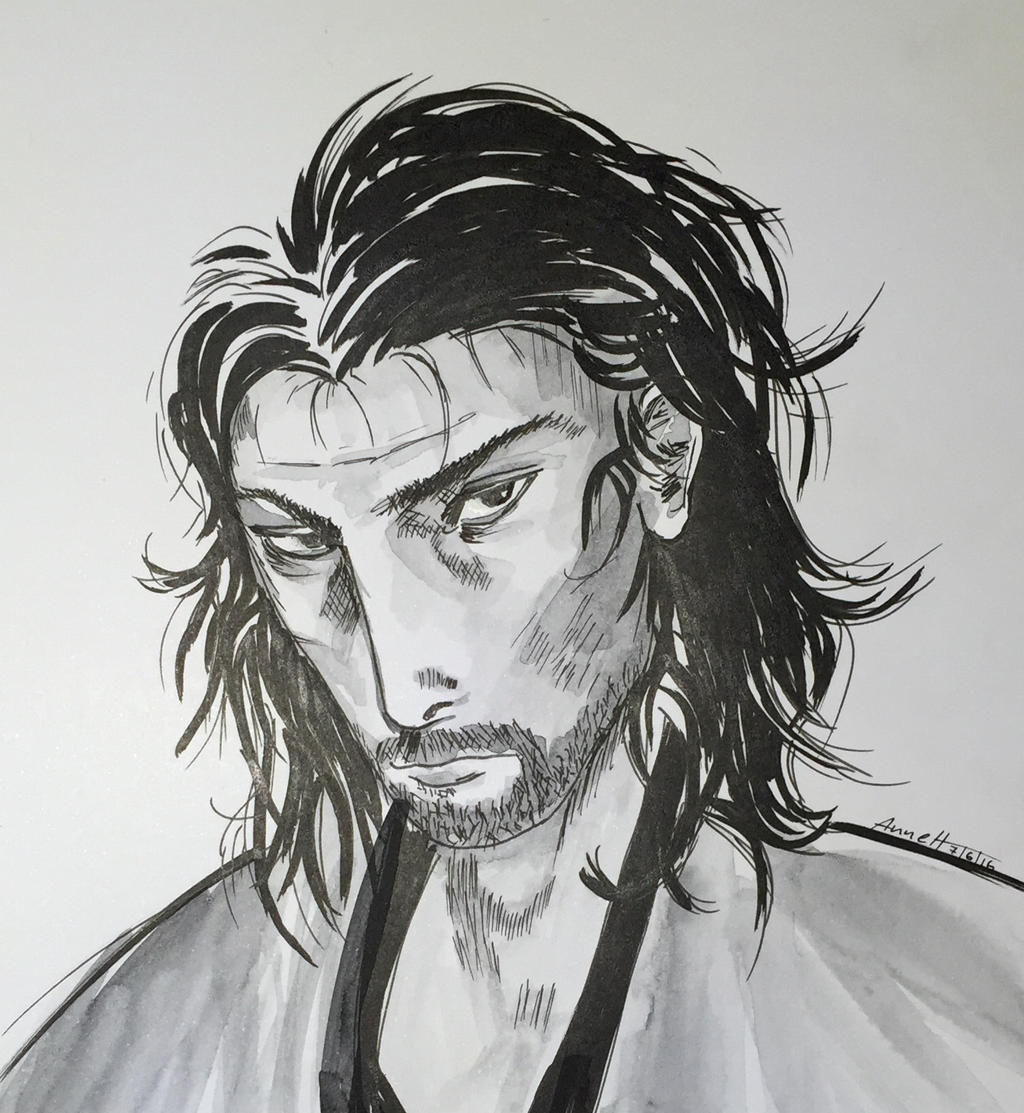 inspired by Miyamoto Musashi Vagabond by 8Annett8
