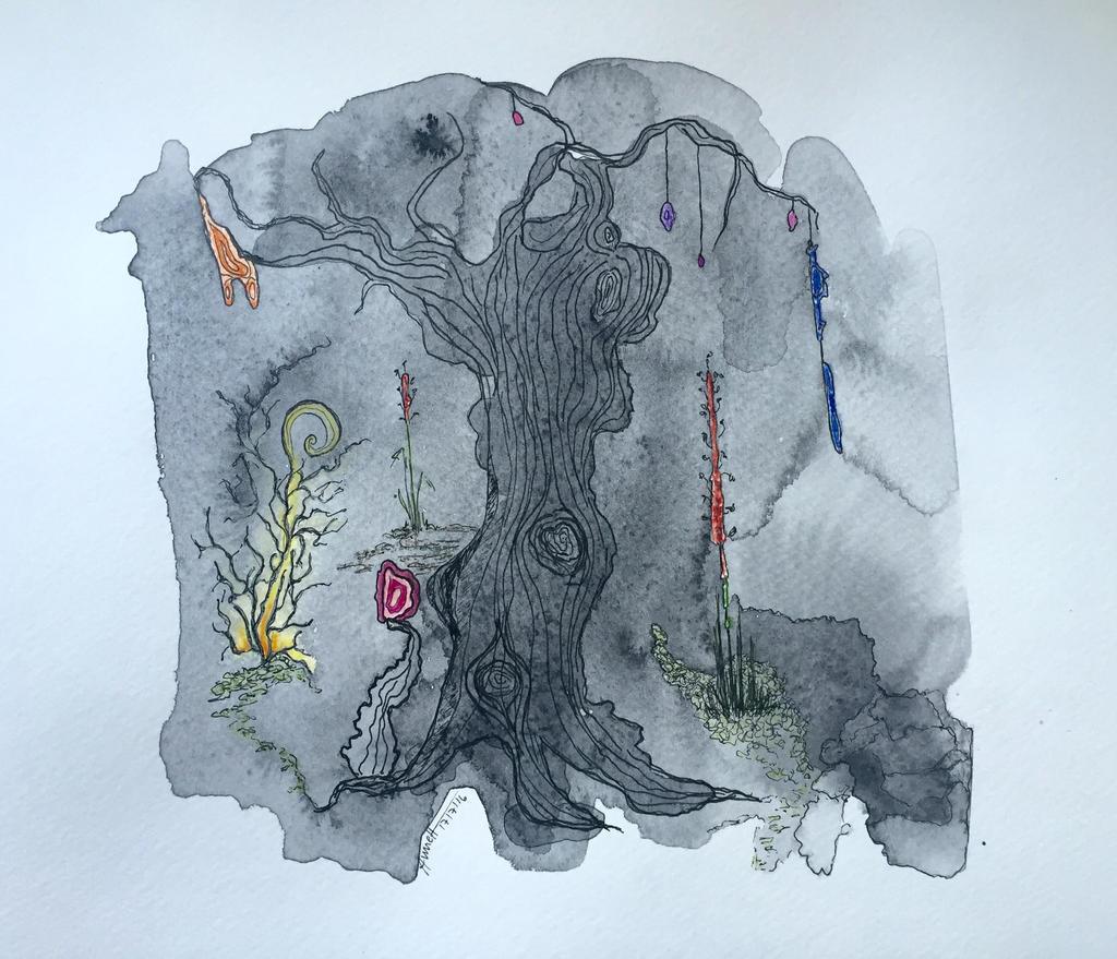 strange tree by 8Annett8