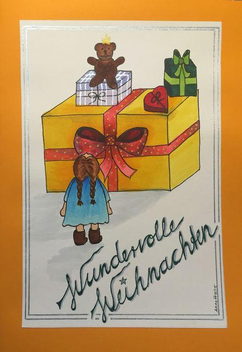 Christmas card 10/2015 by 8Annett8