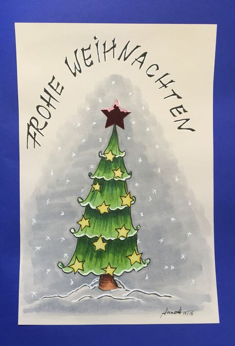 Christmas card 11/2015 by 8Annett8