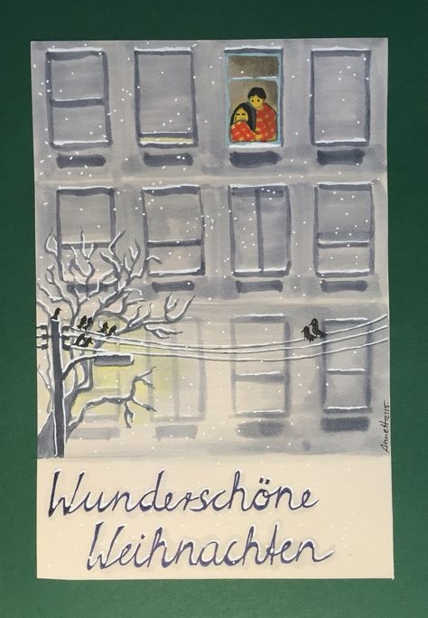 Christmas card 12/2015 by 8Annett8