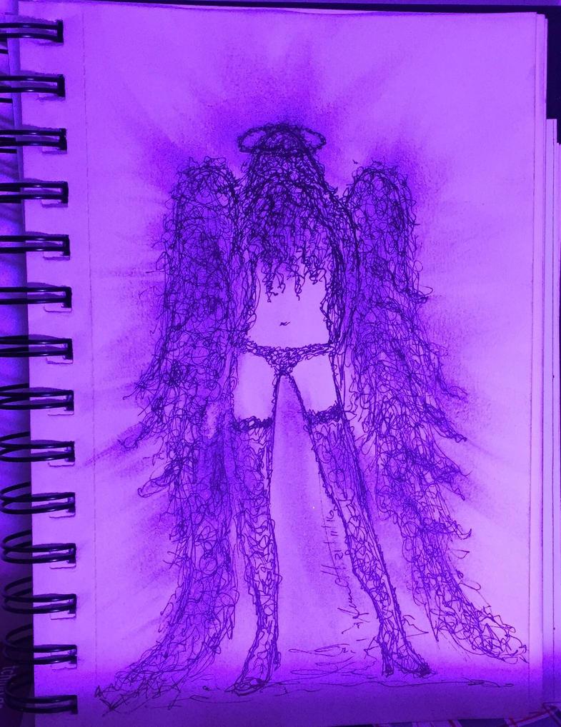 Purple Angel by 8Annett8