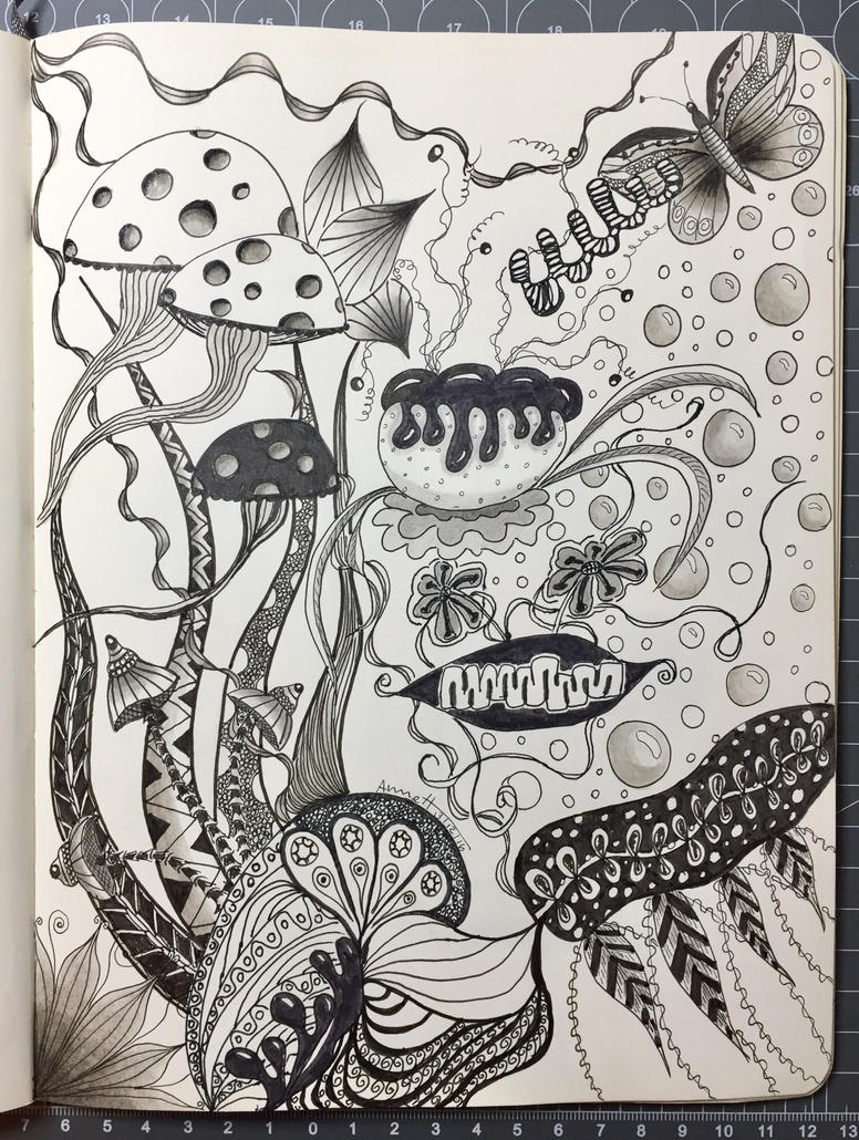 Organic Zentangle by 8Annett8