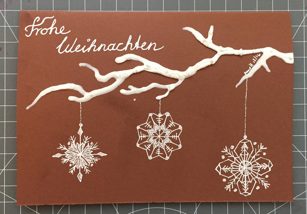 Christmas card 17/2016 by 8Annett8