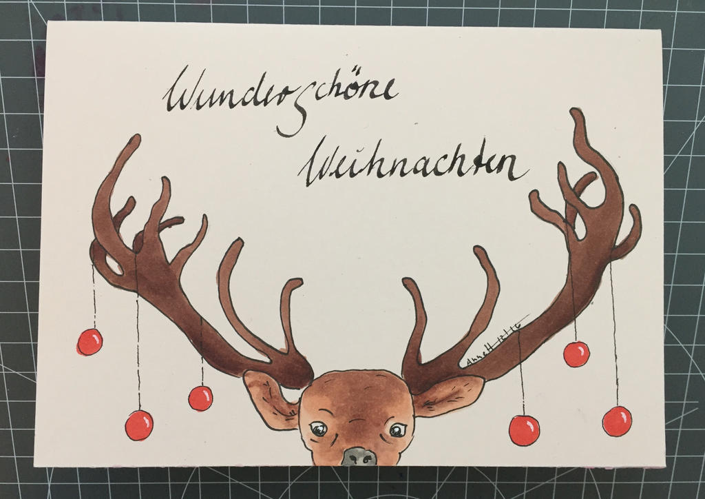 Christmas card 18/2016 by 8Annett8