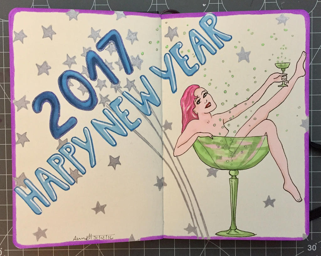 2017 - HAPPY NEW YEAR by 8Annett8