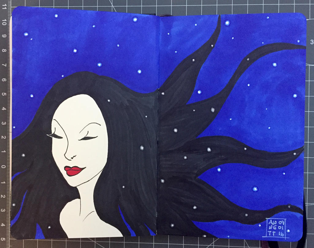 Snowwhite is dreaming by 8Annett8