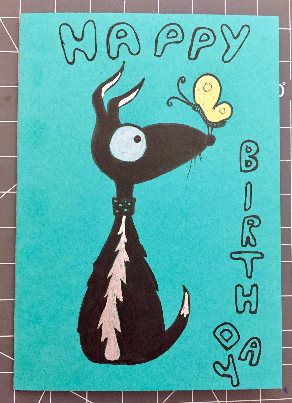 Birthday card 4 Bernd 02/2017 by 8Annett8