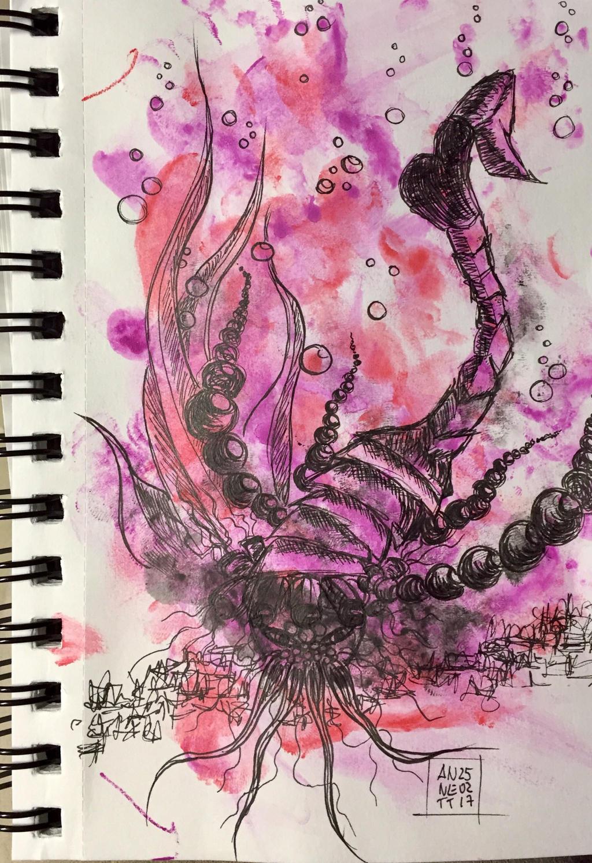 My tonight's scribble 25022017 by 8Annett8