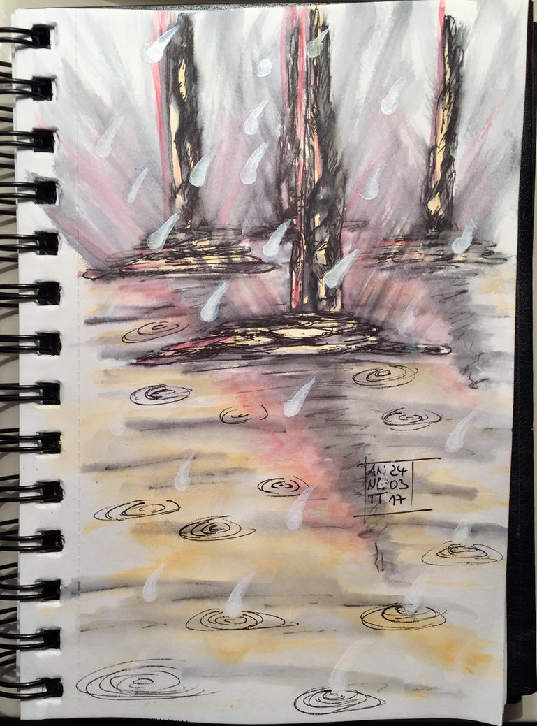 My tonight's scribble 24032017 by 8Annett8