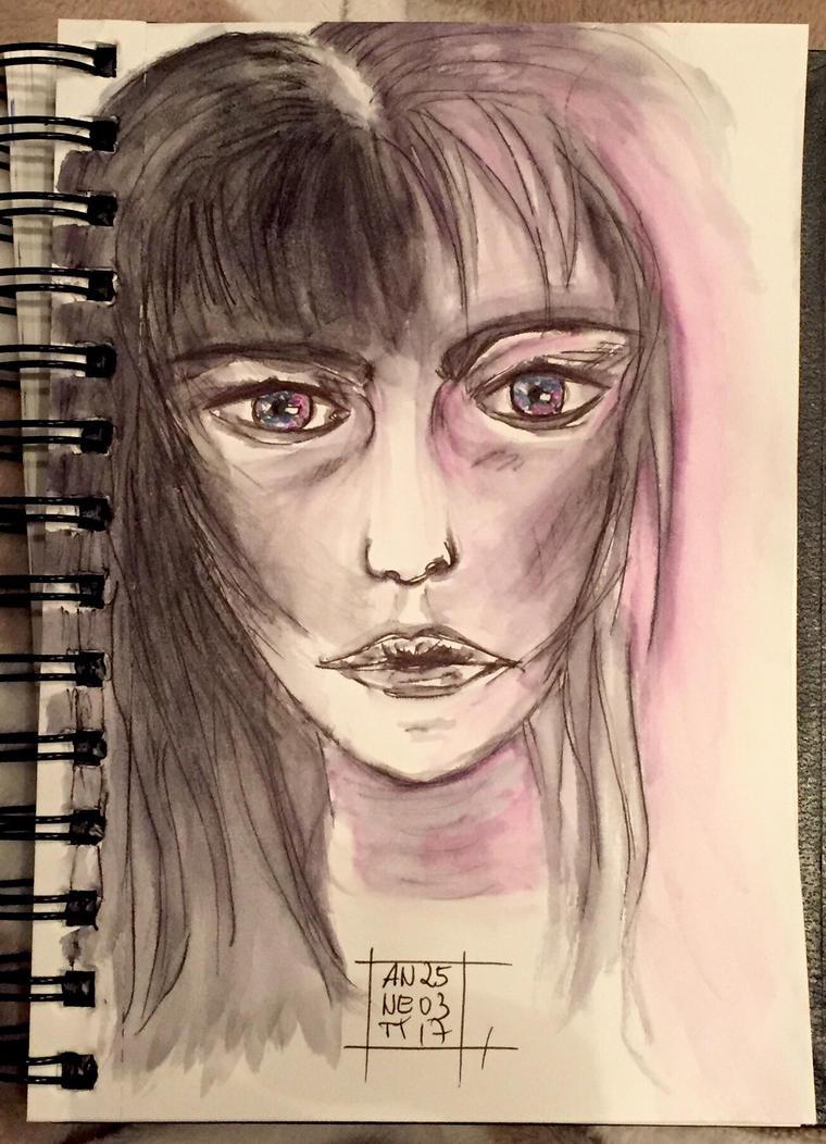 My tonight's scribble 25032017 by 8Annett8