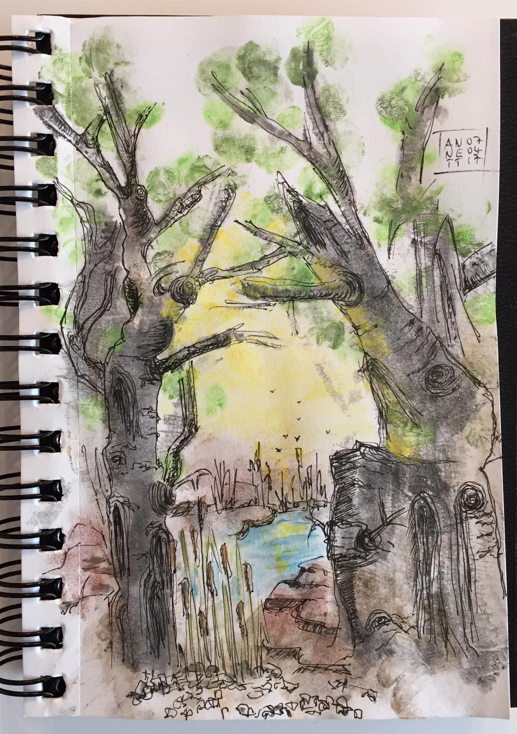 My today's scribble 07042017 by 8Annett8