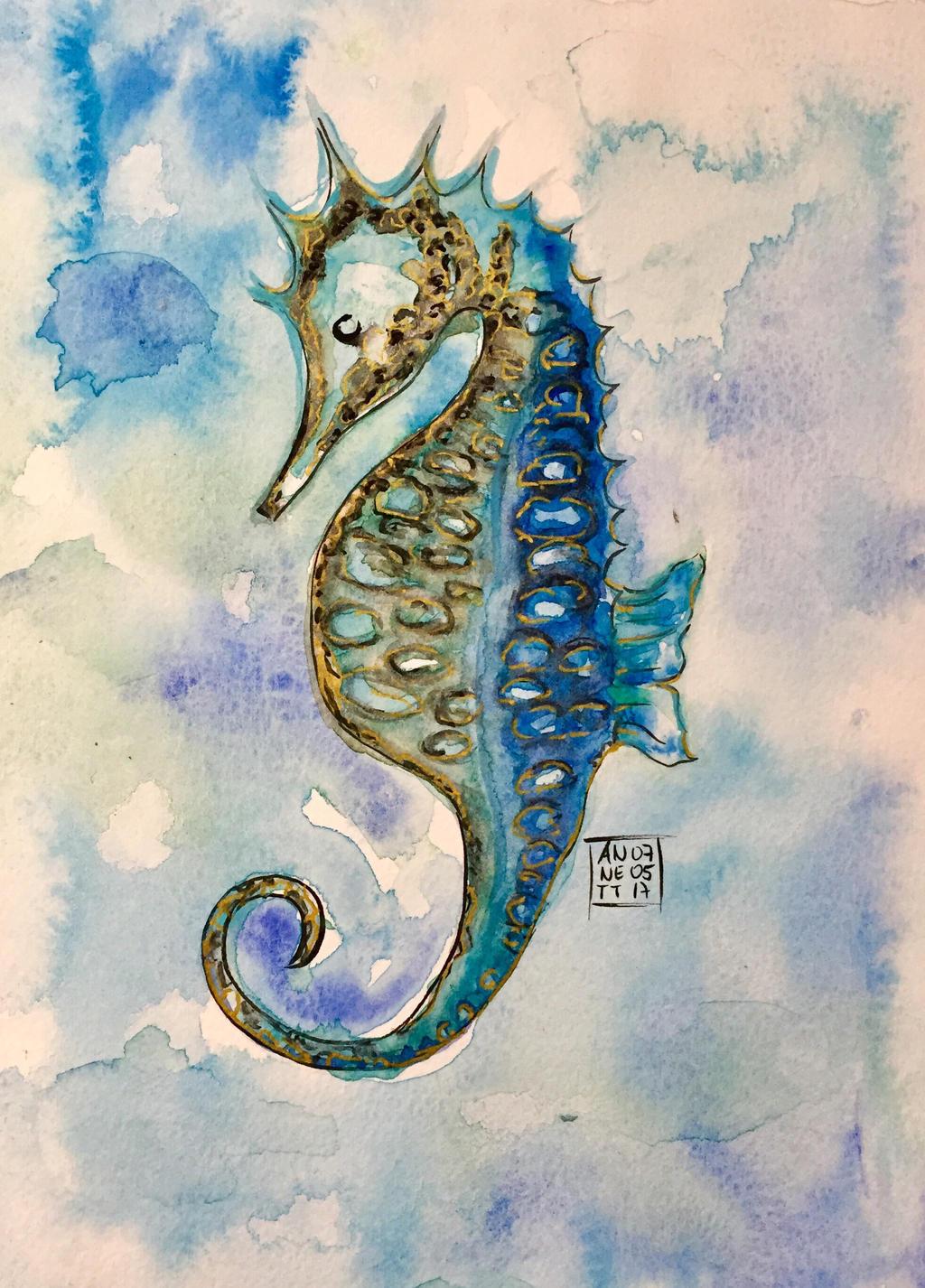 Sea Horse  by 8Annett8