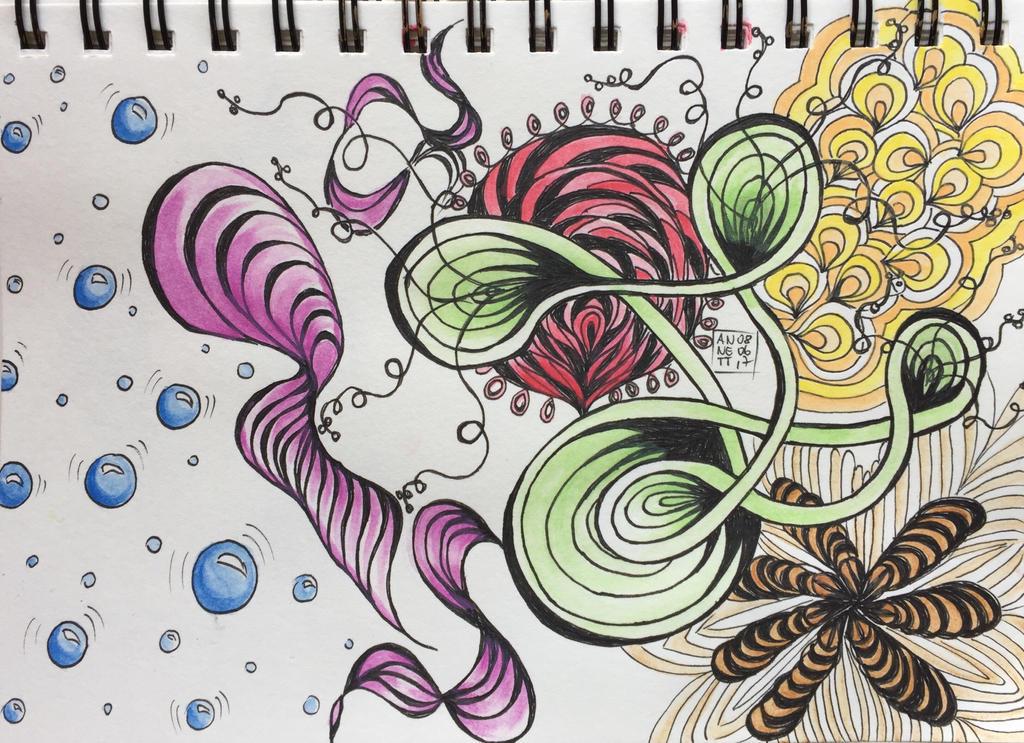 Relax Zentangle by 8Annett8