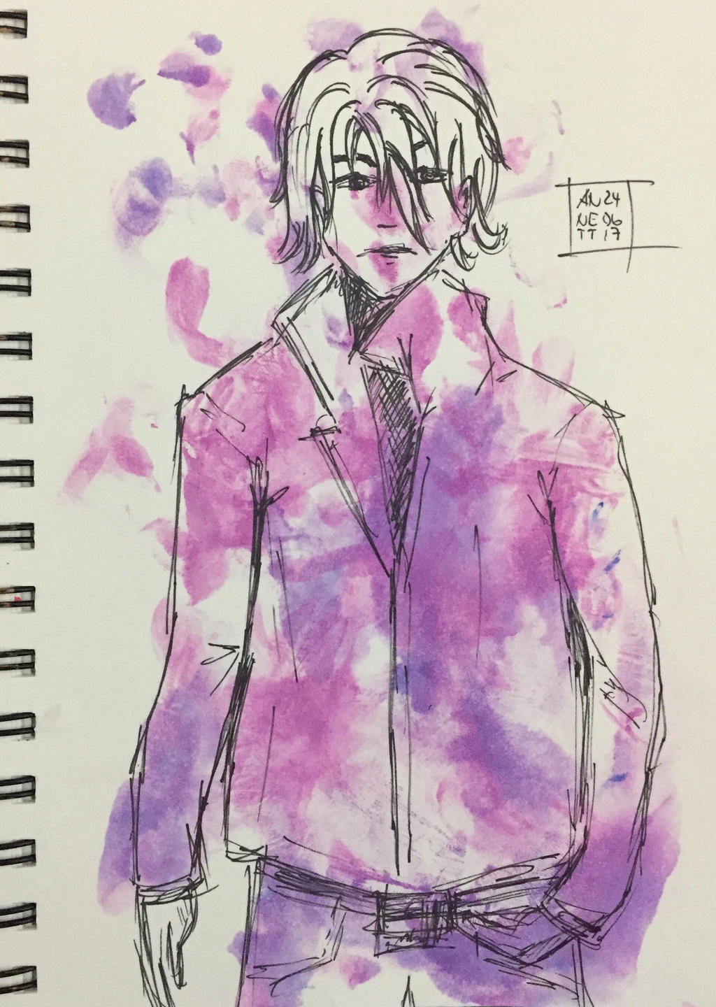 My today's scribble 24062017 by 8Annett8
