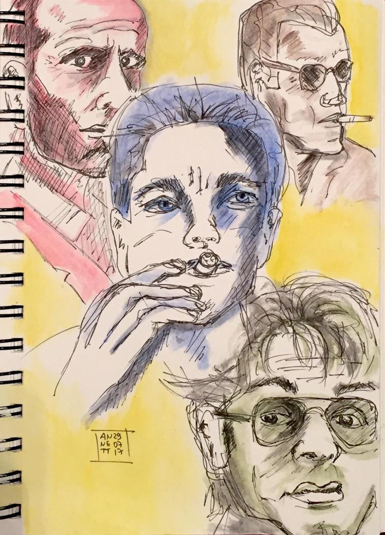 My tonight's scribble 29072017 by 8Annett8