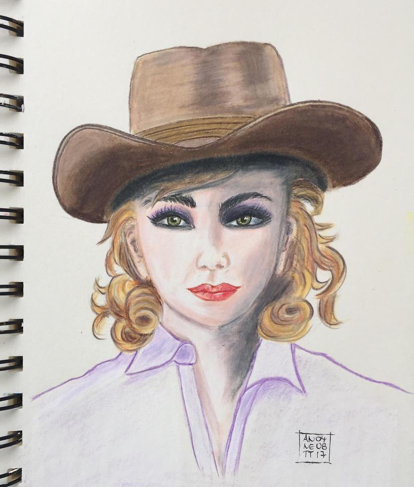 Cowgirl by 8Annett8