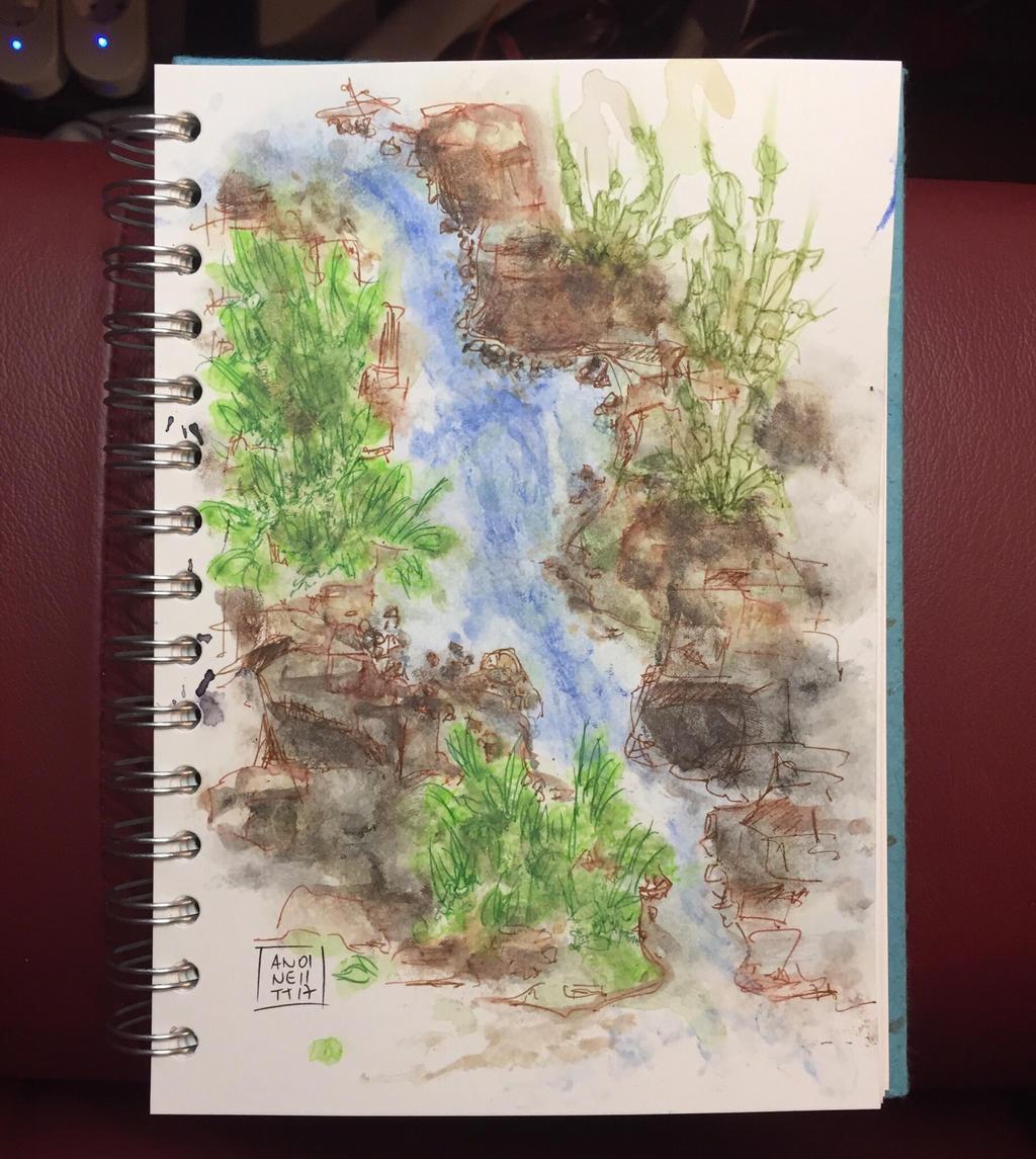 My tonights scribble 01112017 by 8Annett8