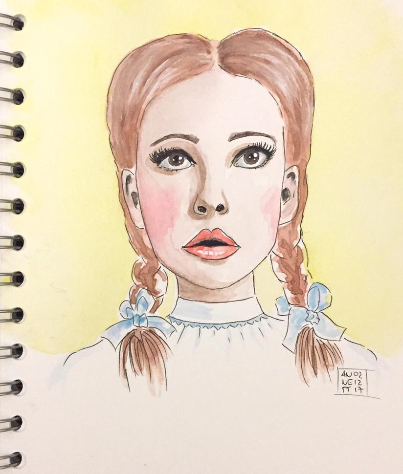 Inspired by Dorothy (Judy Garland)  by 8Annett8
