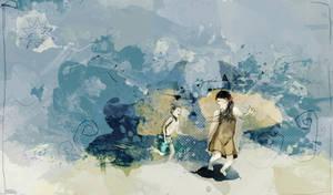 Eyes of sea will be blue by Chiaotzu