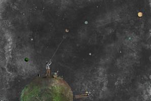 I Plucking planets by Chiaotzu