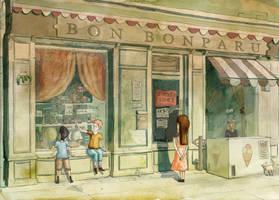 Toy Shop by Chiaotzu