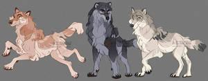 A few wolves