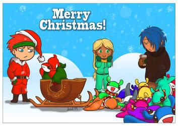 Merry Christmas 2009 by DarrinIthamar