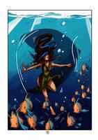 Tequila Underwater by beiibis