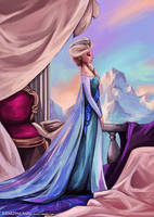Elsa Queen of Arendelle by beiibis