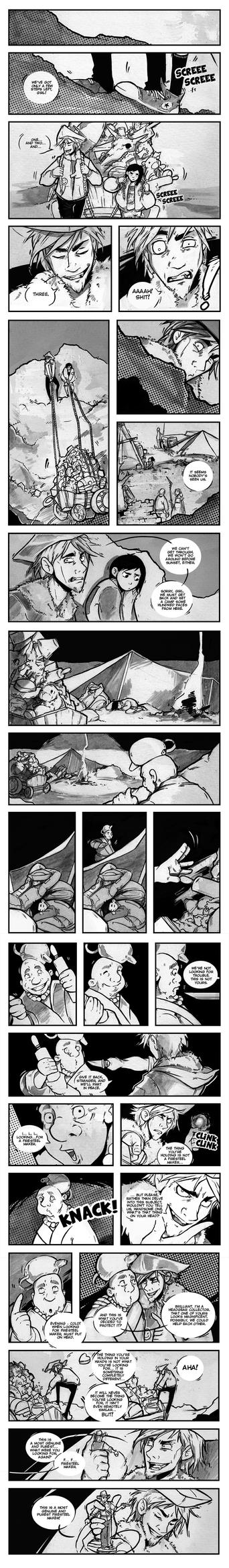Rag'n'Bones pages 1-5 by beiibis
