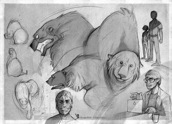 Arthur  sketch set