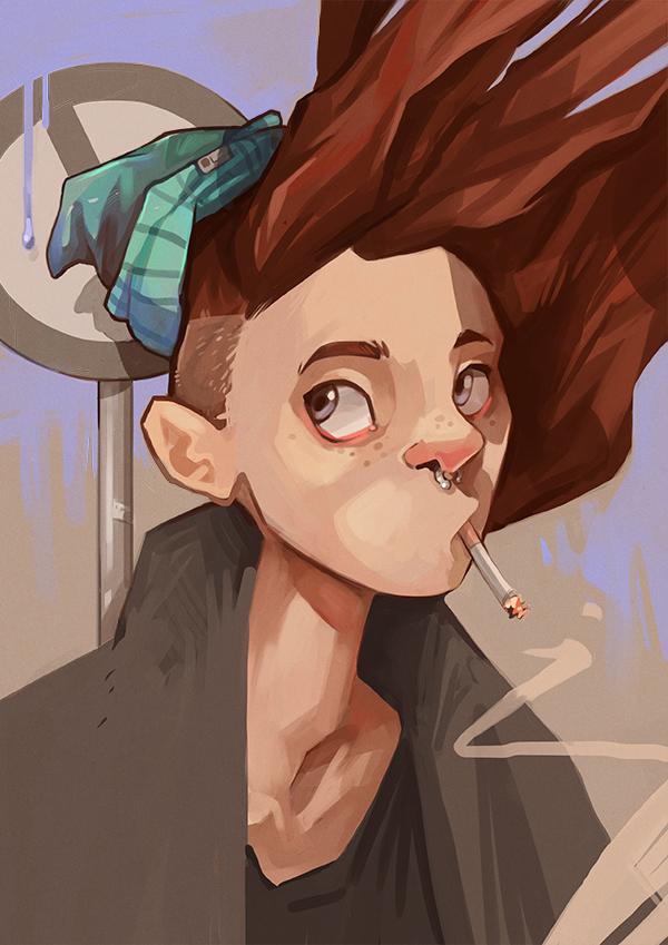 Smokin by beiibis