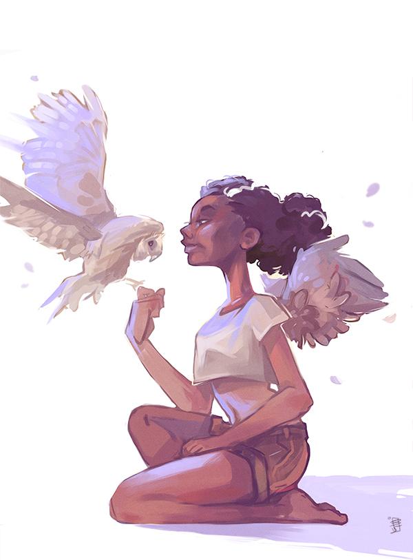 Angel by beiibis