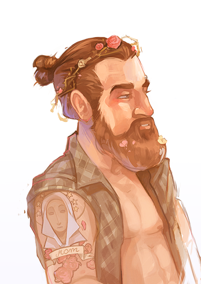 Hipster Jesus by beiibis