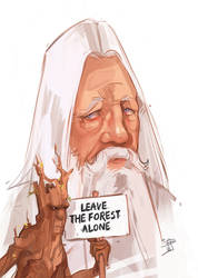 Leave the forest alone