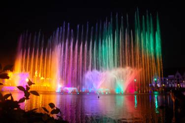 Rainbow fountain by RobindV