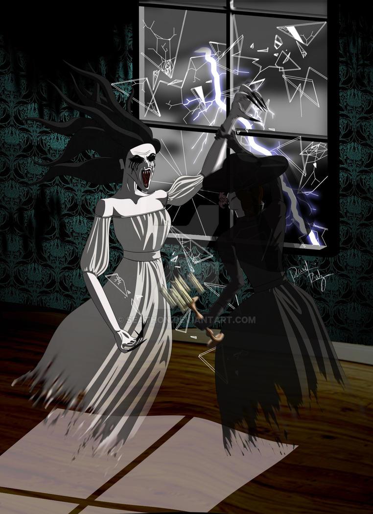 La Llorona y La Dama de Negro by Seathon