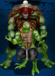 Monster TMNT Raph and Mikey