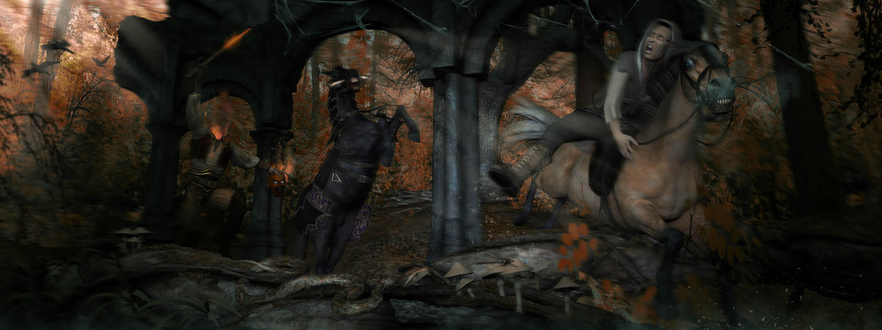 The Headless Horseman Ver.2 by Davage003