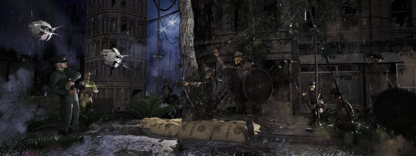 Urban Warfare 2020 AD by Davage003