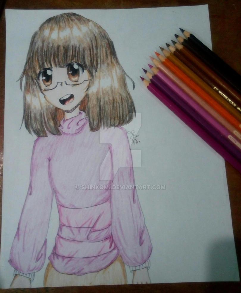Drawing my anime version c: by Shinkomi