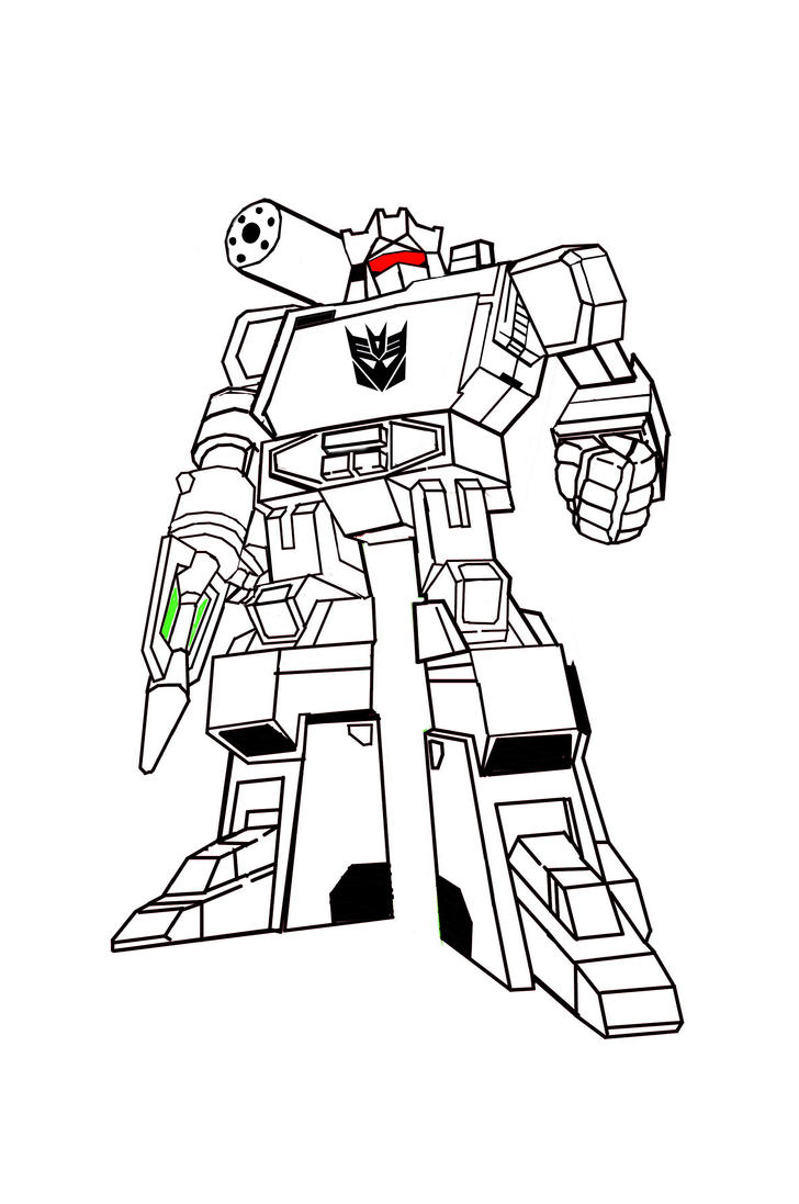 D Line Drawings : Soundwave d line drawing by grimlockfett on deviantart